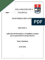 Estatica, proyecto