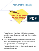 Deberes Constitucionales (Fundamentales)