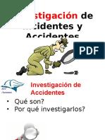 Investigacion de Incidentes y Accidentes