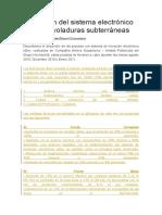 Aplicación Del Sistema Electrónico EDev en Voladuras Subterráneas