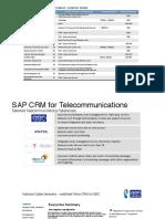 Sap Crm Telecom