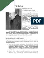 MICHAL KALECKI.pdf