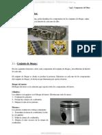 Manual Partes Componentes Motor Diesel Conjunto Bloque Motor Culata Tren Engranajes Funciones
