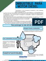 Manual Combustible Motor Diesel Komatsu Tipos Aditivos Propiedades Aceite Especificaciones Combustion Inyeccion