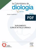 2016 Revista Colombiana de Cardiologia - Vol23-Supl1