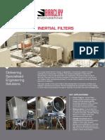 BARCLAY Tech Spec Sheet A4 Inertial Filters Final