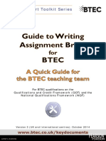 Quick Guide to Assignments June 2014