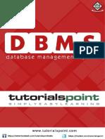 dbms tutorial