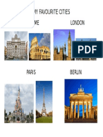 My Favourite Cities