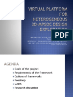 Virtual Platform for Heterogeneous 3D-MPSoC Design Exploration