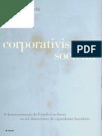 Renato Boschi - Corporativismo Social INSIGHT INTELIGÊNCIA, 2010