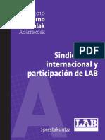 Sindicalismo internacional y participación de LAB