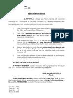 Aff of Lossbankbook.6.7.13