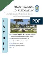 CONCEPTOS BÁSICOS:Currículum,Capacidad,Destreza,Procedimiento,Habilidades,Estrategias,Procesos.