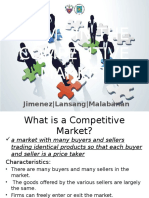 Firms in the Competitive Market