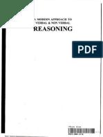 Verbal and Non Verbal Reasoning by R. S. Aggarwal