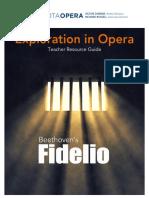 Sarasota Opera Teacher Resource Guide Fidelio