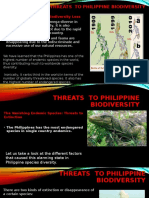 Threats  to Philippine Biodiversity.pptx