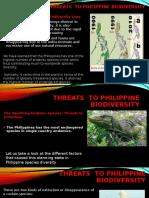 Threats  to Philippine Biodiversity.pptx