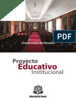 Proyecto Educativo Institucional UR Web