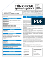 Boletín Oficial de la República Argentina, Número 33.412. 05 de julio de 2016