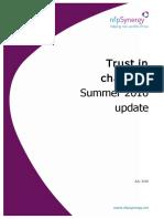 Trust in Charitites Summer 2016 Update