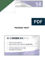 Draft Program ACUM SSR 12-11-2015