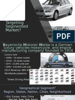 Market Segmentation and Targeting With BMW