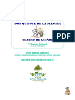 Guion de Don Quijote de La Mancha-guion Completo