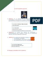 Quimica Riesgos y Beneficos Quimica Nivelacion