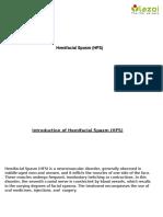 Hemifacial Spasm (HFS)