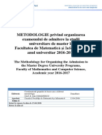 Metodologie Admitere Master 2016 v10 Trimis