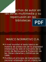 Los derechos de autor en las obras multimedia.ppt