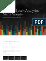 Apache Spark Analytics Made Simple