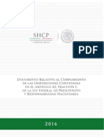 Pre-Criterios de Política Económica 2017.
