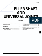Prop Shaft UV Joints A