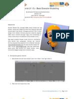 Tutorial Character Modelling Blender Boy v1.0 (Blender 2.49)