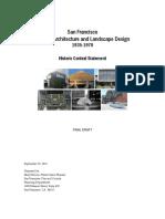 San Franciski(Modern Architecture and Landscaoe Design)