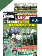 LE BUTEUR PDF du 22/05/2010