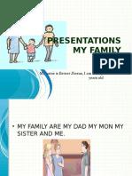 Presentations My Family jhonson