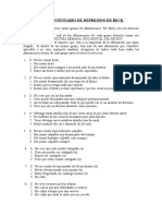 BDI  INVENTARIO DE DEPRESION DE BECK.doc