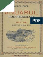 Anuarul Bucurescilor Pe Anul 1895