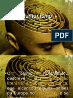 Slide de Humanismo 1