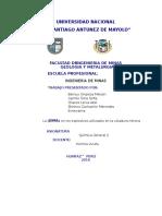 Proyecto de Investigación Química en mineria