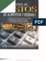Control de Costos de Alimentos y Bebidas i