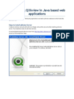 Integrating Qlikview in Java Based Web Applications