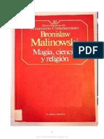 Magia Ciencia y Religion MALINOSKI