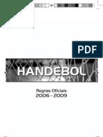 handebol regras oficiais 2010