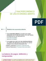El Modelo Macroeconómico de Una Economía Abierta
