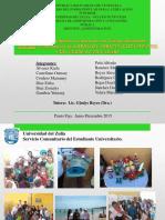 Informe de Servicio Comunitario LISTO